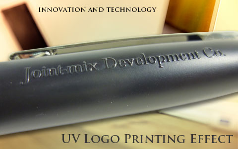 UV Logo printing effect gift and premium