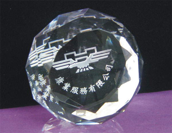 Crystal Paper Weight