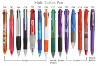 Plastic Multi-color Pen