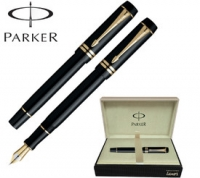 Parker Duofold fountain pen and box